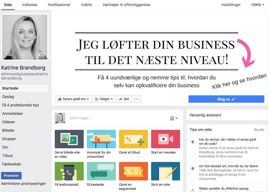 Sådan gør du din Facebook-side SEO-venlig