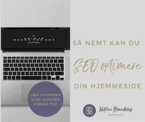 SEO-optimering, business, SEO-optimere, Personlig Assistent, Katrine Brandborg